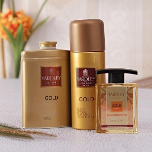 yardley london gold