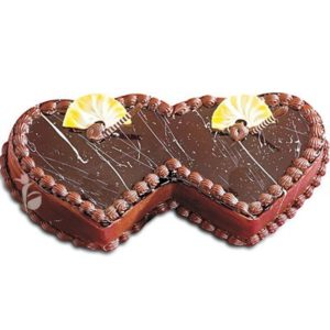 double-heart-cake
