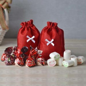 truffle-chocolates-and-marshmallow-in-a-bag