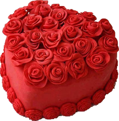 Rose Cake Half Kg Wish someone loads of happiness and love on their special day. bigwishbox